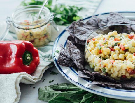 Crunchy Corn Salsa