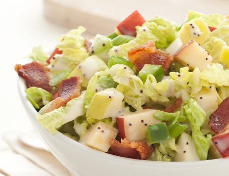 Bacon and Apple Cabbage Salad