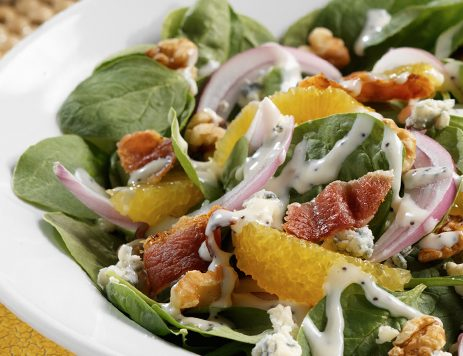 Classic Spinach Salad