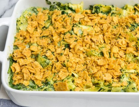 Spinach Noodle Casserole
