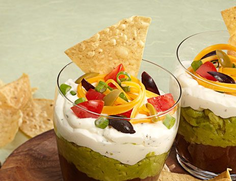 Mexican Layered Appetizer for a Crowd
