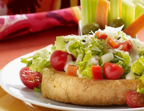 New York Bakery Texas Toast Chopped Caesar Salad