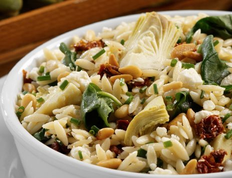 Orzo Salad With Feta Cheese