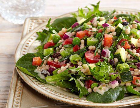 Six Vegetable Couscous Salad