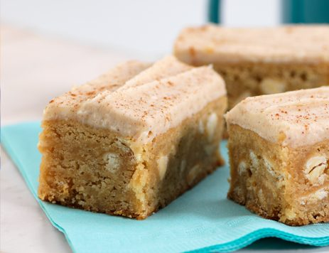 Snicker Doodle White Chocolate Bars