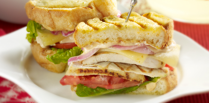 Grilled Montreal Chicken Sandwich | McCormick  |Recipes Grilled Chicken Subs