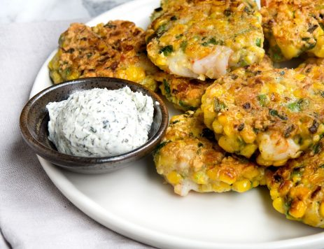 Corn and Shrimp Fritters