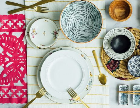 Around the World in 5 Table Settings