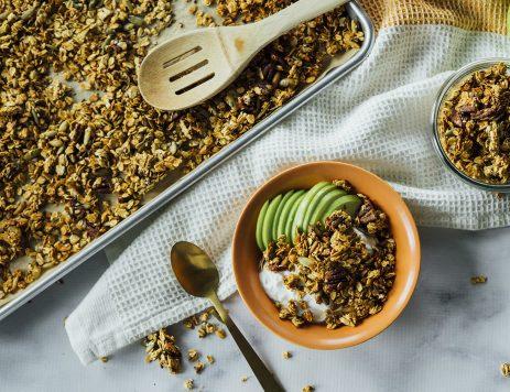 Caramel Pumpkin Seed Granola
