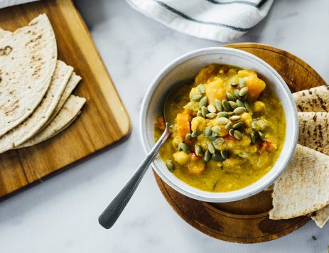 Vegetarian Slow-Cooker Pumpkin Curry